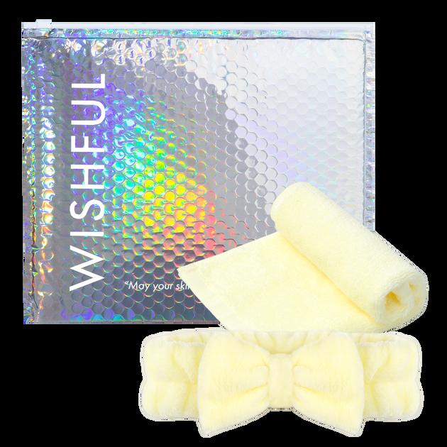 WISHFUL Washcloth & Headband Set, , hi-res