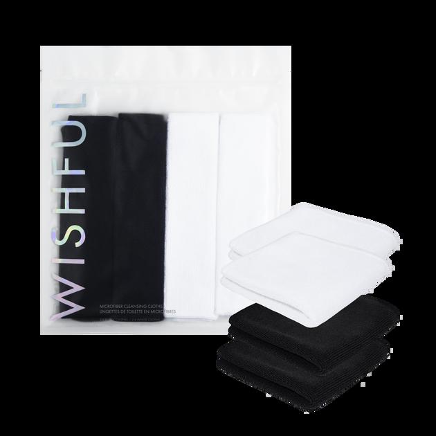 4 Pack Microfiber Cleansing Cloths, , hi-res