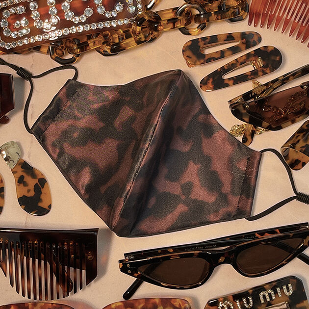 Brown Obsessions Reusable Face Covering, , hi-res