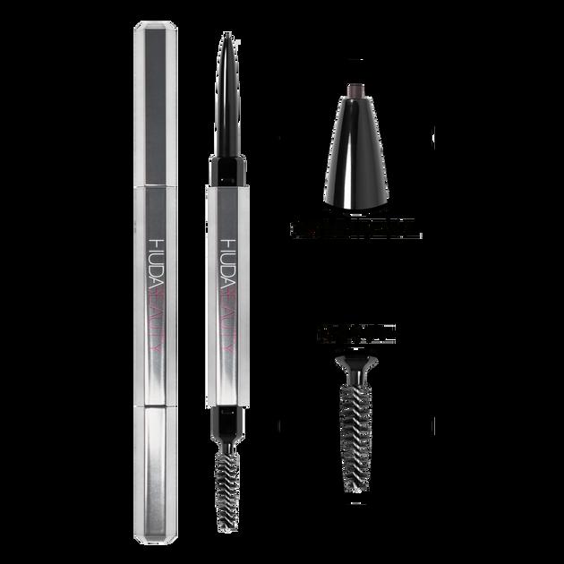 #BOMBBROWS Microshade Brow Pencil Soft Black - 8, Soft Black - 8, hi-res