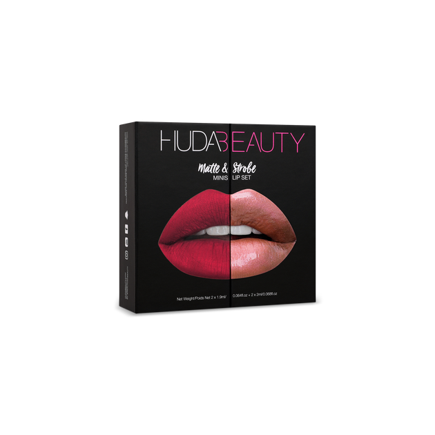 Matte & Strobe Mini Lip Set - Red Edition, Red Edition, hi-res