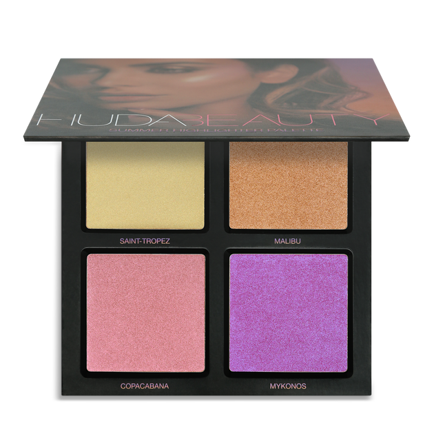 3D Highlighter Palette – Summer Solstice, Summer Solstice, hi-res