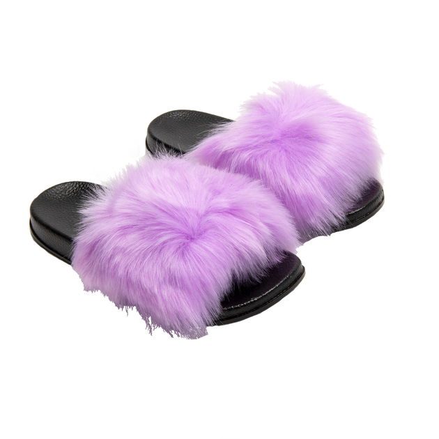 Fuzzy Slippers, , hi-res