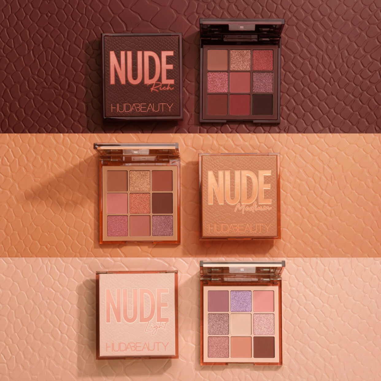 NUDE Obsessions Eyeshadow Palette | Shop | HUDA BEAUTY