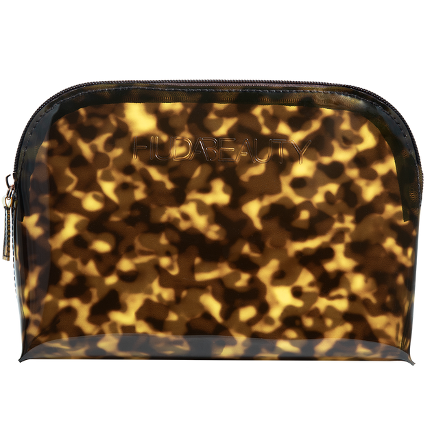 Brown Obsessions Tortoise Makeup Pouch, , hi-res