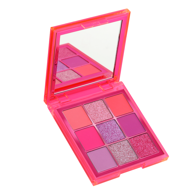 Neon Obsessions Palette Pink, Neon Pink, hi-res