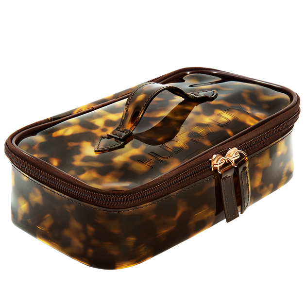 Brown Obsessions Tortoise Mini Beauty Case, , hi-res