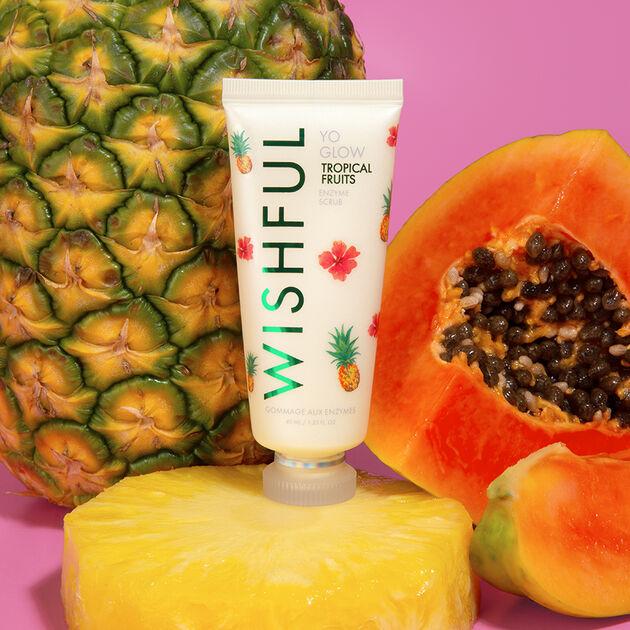 Yo Glow Tropical Fruits Enzyme Scrub 40ml, , hi-res