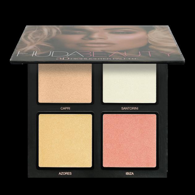 3D Highlighter Palette – Pink Sands, Pink Sands, hi-res