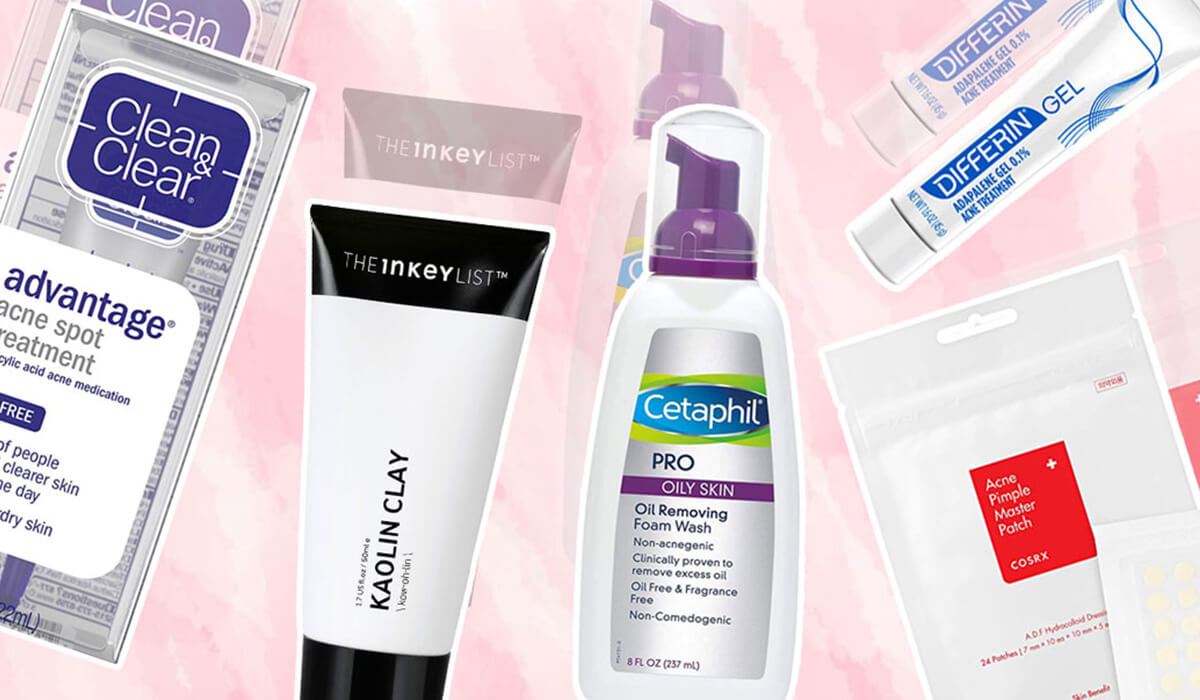 5 Bomb Drugstore Products For Acne-Prone Skin