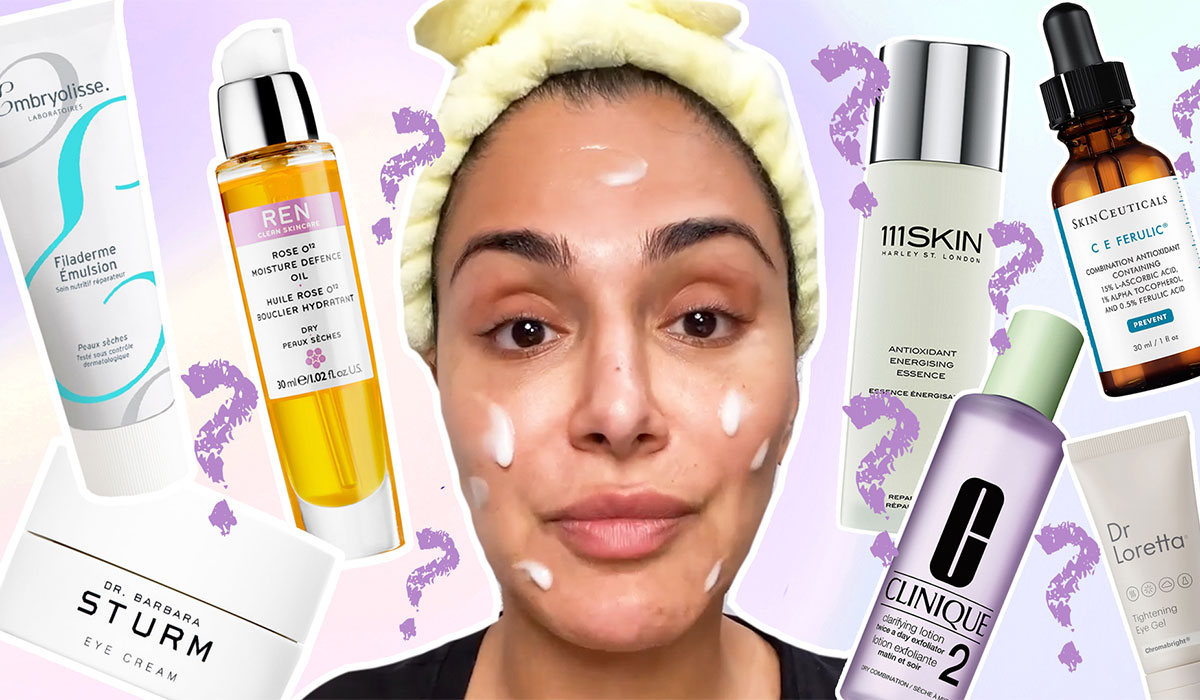 HOW I LAYER SKINCARE